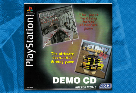 PSX Demo Ascii Demo Disc