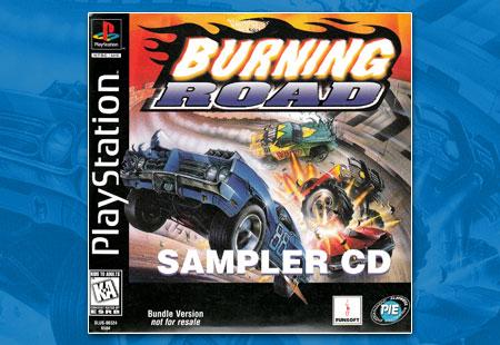 PSX Demo Burning Road Sampler CD
