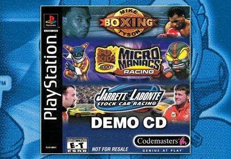 PSX Codemasters Demo CD