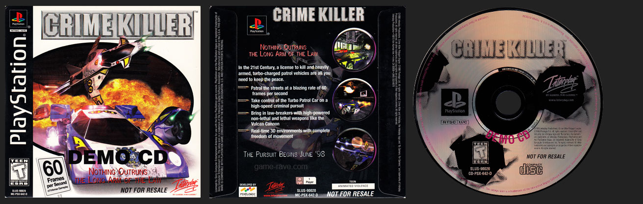 PSX Crime Killer Demo