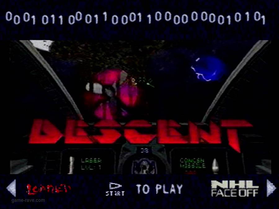 PSX Demo Interactive CD Sampler Volume One Descent Video Demo (2)