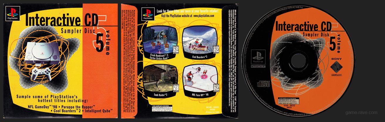 Interactive CD Sampler Disc Volume 5