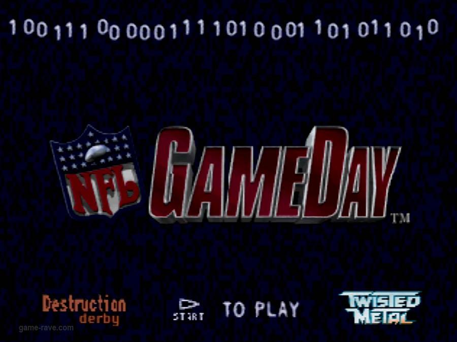 PSX Interactive CD Sampler Demo Volume 1 NFL Game Day Screenshot (1)