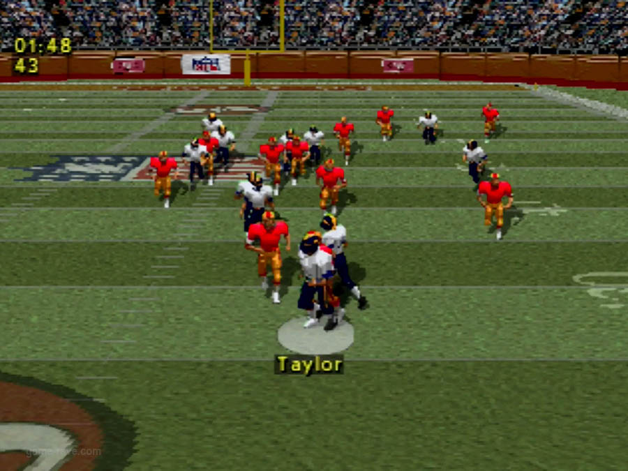 PSX Interactive CD Sampler Demo Volume 1 NFL Game Day Screenshot (10)