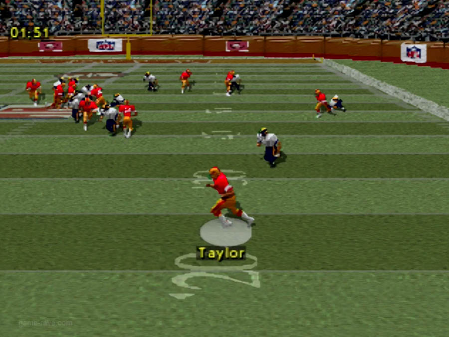 PSX Interactive CD Sampler Demo Volume 1 NFL Game Day Screenshot (5)