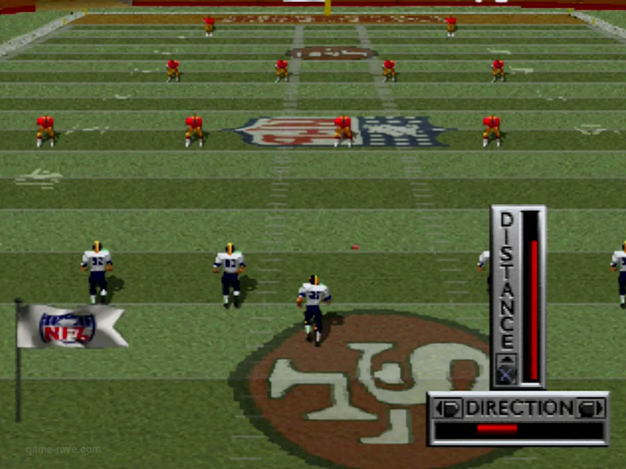 PSX Interactive CD Sampler Demo Volume 1 NFL Game Day Screenshot (6)