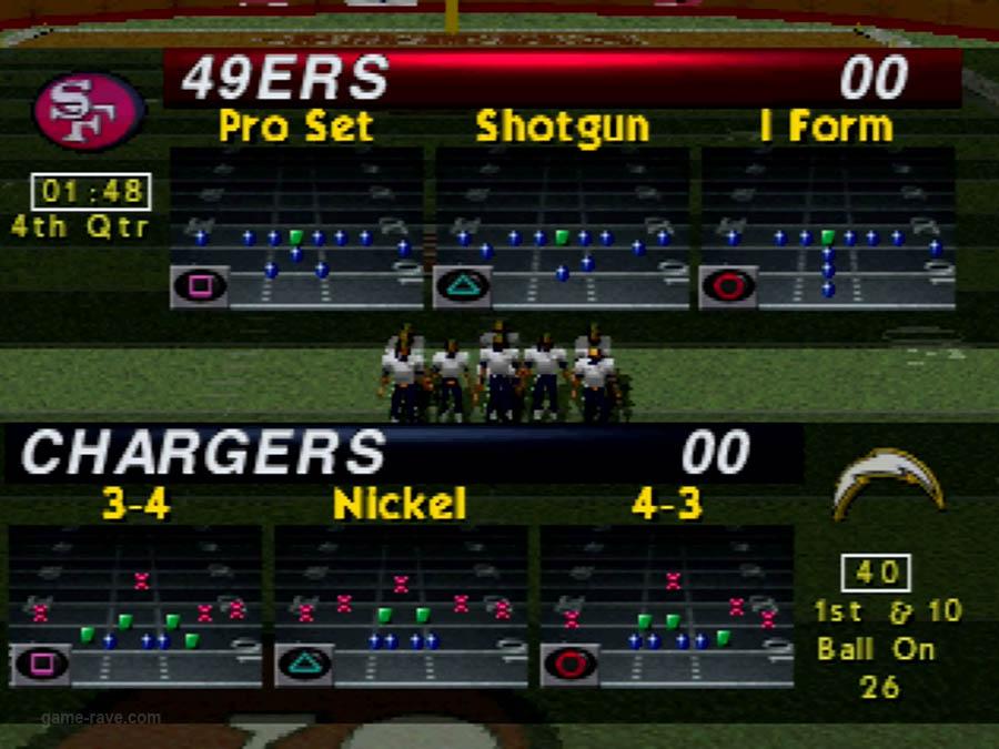 PSX Interactive CD Sampler Demo Volume 1 NFL Game Day Screenshot (7)