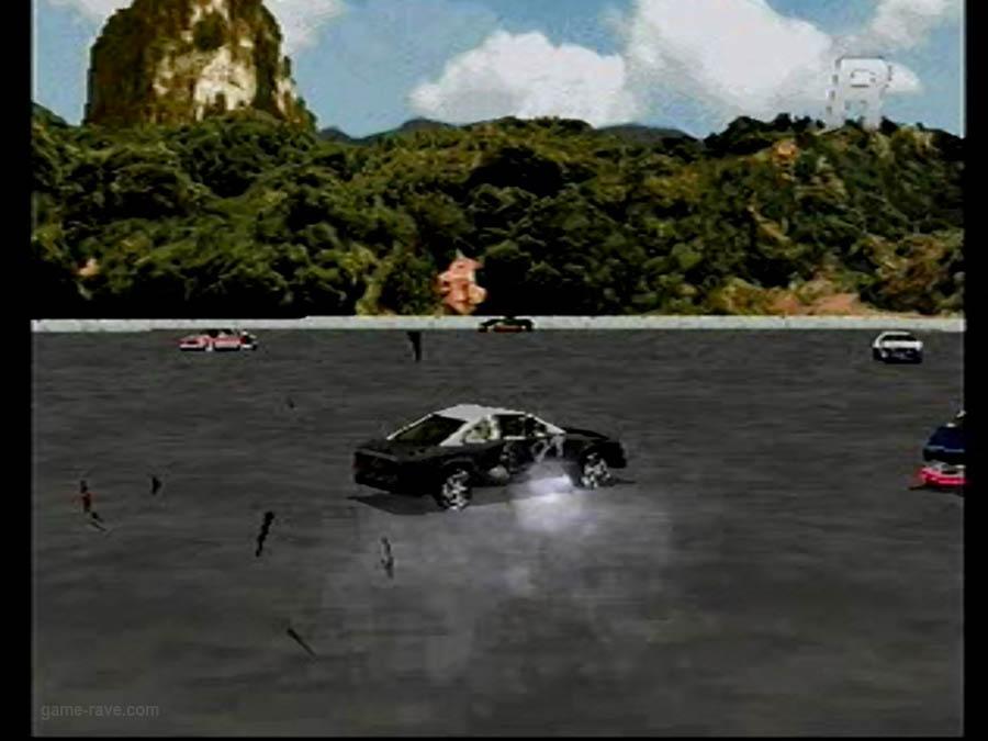 PSX Interactive CD Sampler Demo Volume One Destruction derby Screensho (4)