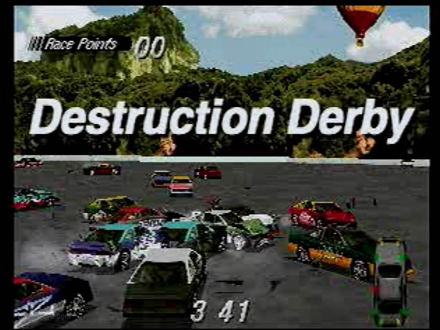 PSX Interactive CD Sampler Demo Volume One Destruction derby Screensho (6)