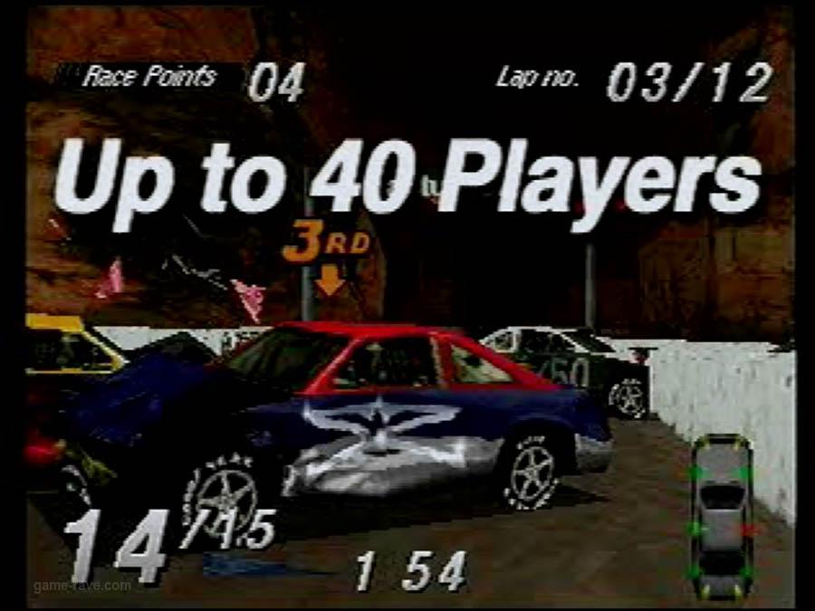 PSX Interactive CD Sampler Demo Volume One Destruction derby Screensho (8)
