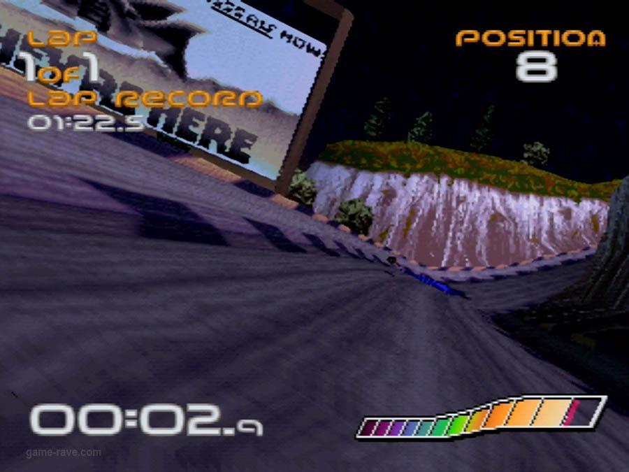 PSX Interactive CD Sampler Demo Volume One Wipeout Demo Screenshot (1)