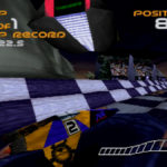 PSX Interactive CD Sampler Demo Volume One Wipeout Demo Screenshot