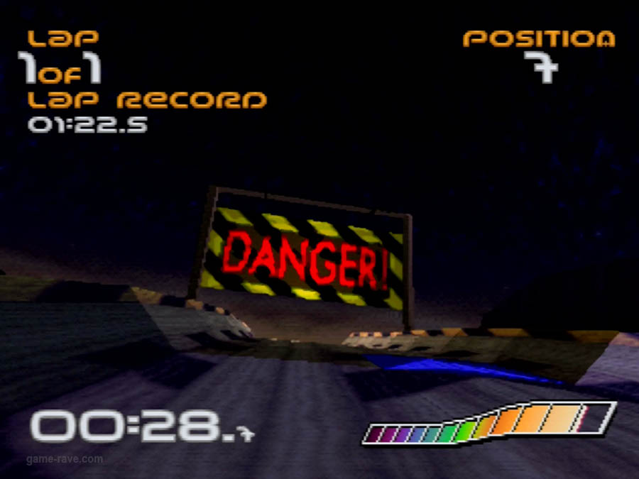 PSX Interactive CD Sampler Demo Volume One Wipeout Demo Screenshot (3)