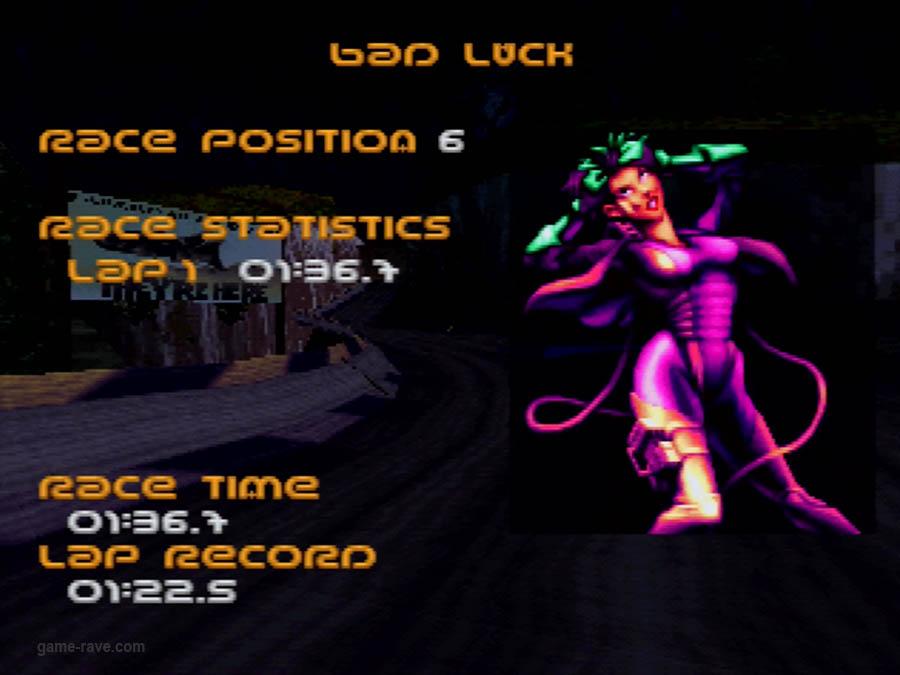 PSX Interactive CD Sampler Demo Volume One Wipeout Demo Screenshot (5)