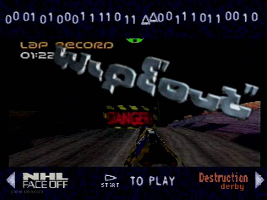 PSX Interactive CD Sampler Demo Volume One Wipeout Demo Screenshot (7)