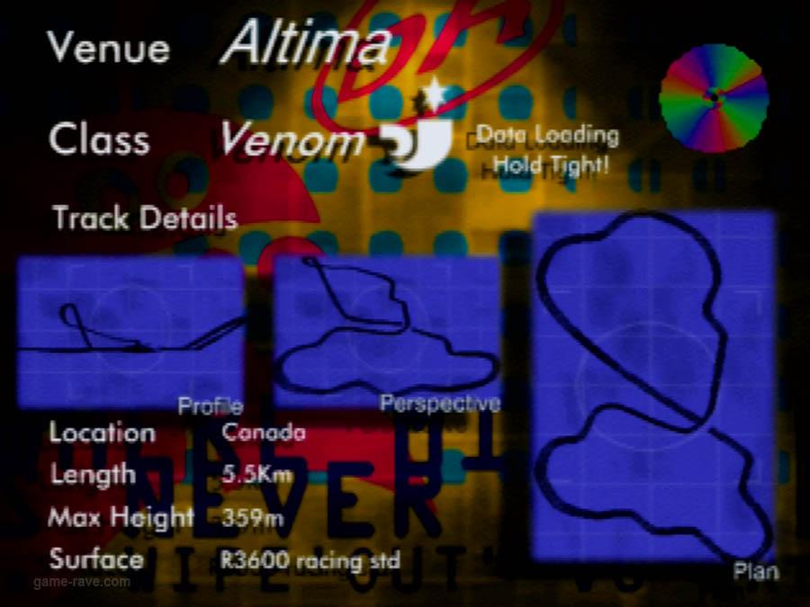 PSX Interactive CD Sampler Demo Volume One Wipeout Demo Screenshot (9)