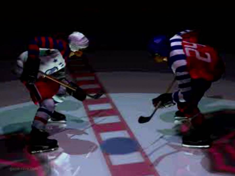 PSX Interactive CD Sampler Volume One Demo NHL Face Off Screenshot (1)