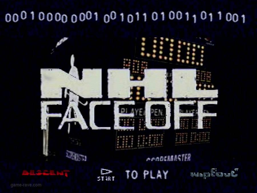 PSX Interactive CD Sampler Volume One Demo NHL Face Off Screenshot (4)