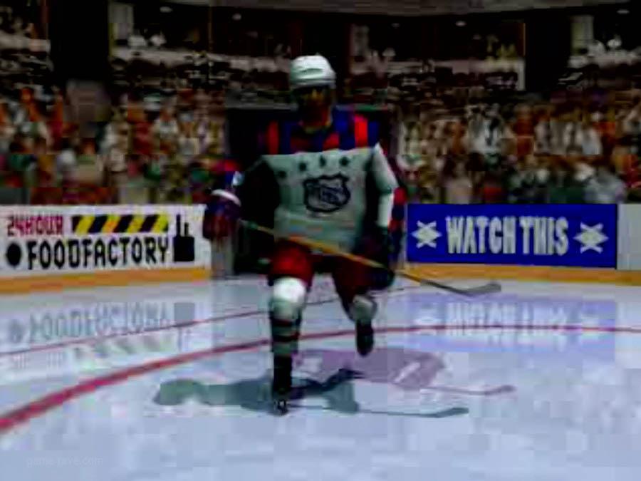 PSX Interactive CD Sampler Volume One Demo NHL Face Off Screenshot (5)