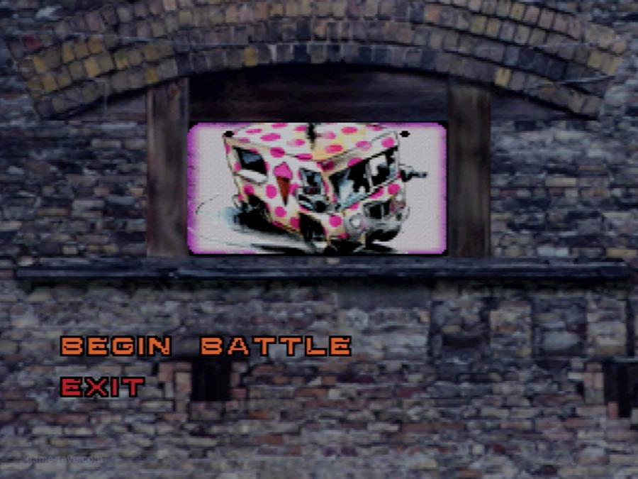 PSX Interactive CD Sampler Volume One Demo Twisted Metal Screenshot (10)