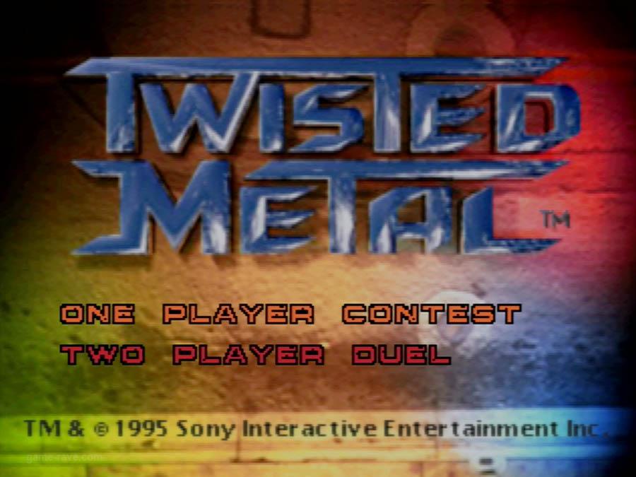PSX Interactive CD Sampler Volume One Demo Twisted Metal Screenshot (3)