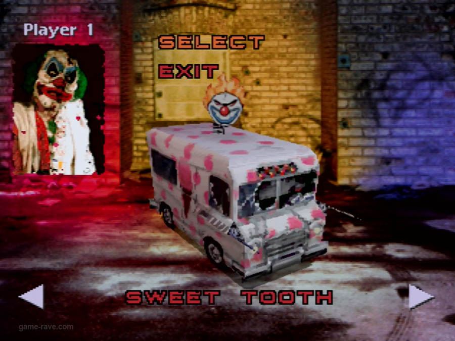 PSX Interactive CD Sampler Volume One Demo Twisted Metal Screenshot (4)