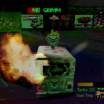 PSX Interactive CD Sampler Volume One Demo Twisted Metal Screenshot