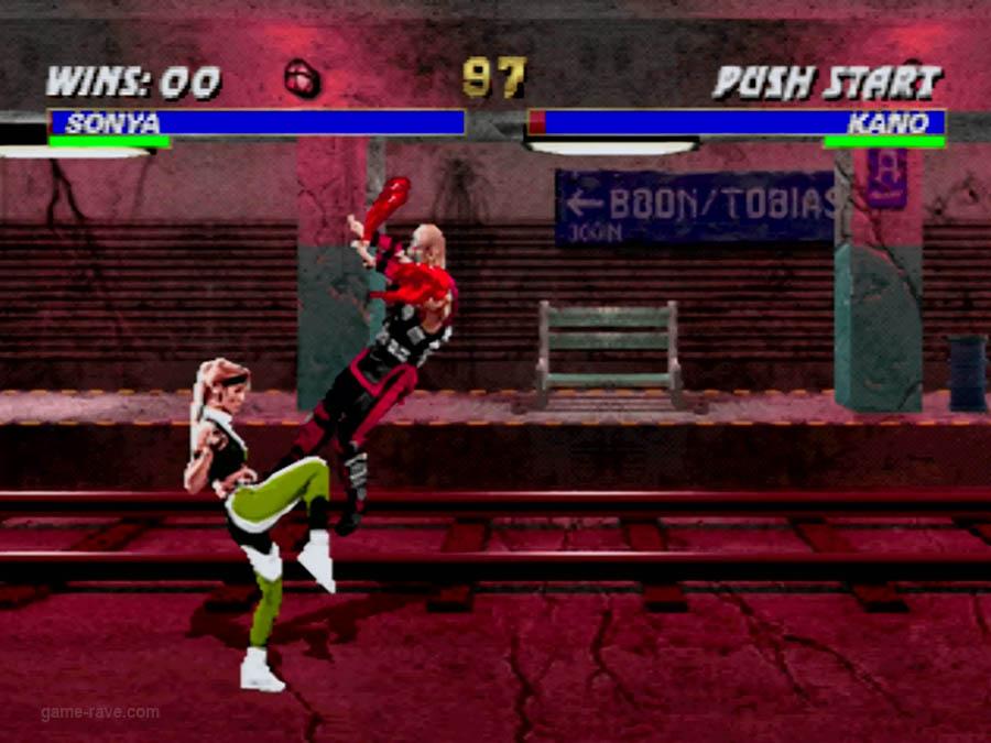 PSX Interactive CD Sampler Volume One Mortal Kombat 3 Screenshot (1)