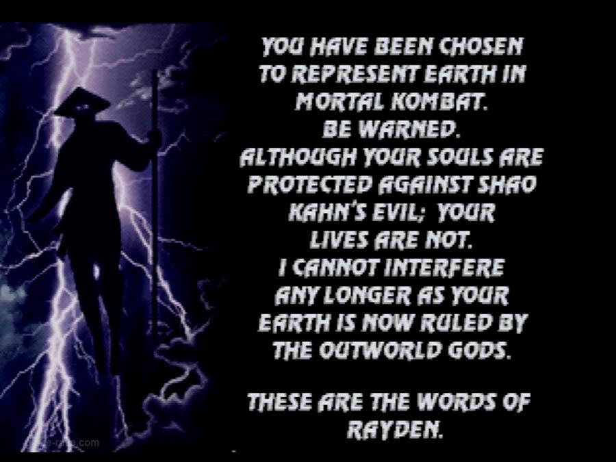 PSX Interactive CD Sampler Volume One Mortal Kombat 3 Screenshot (13)