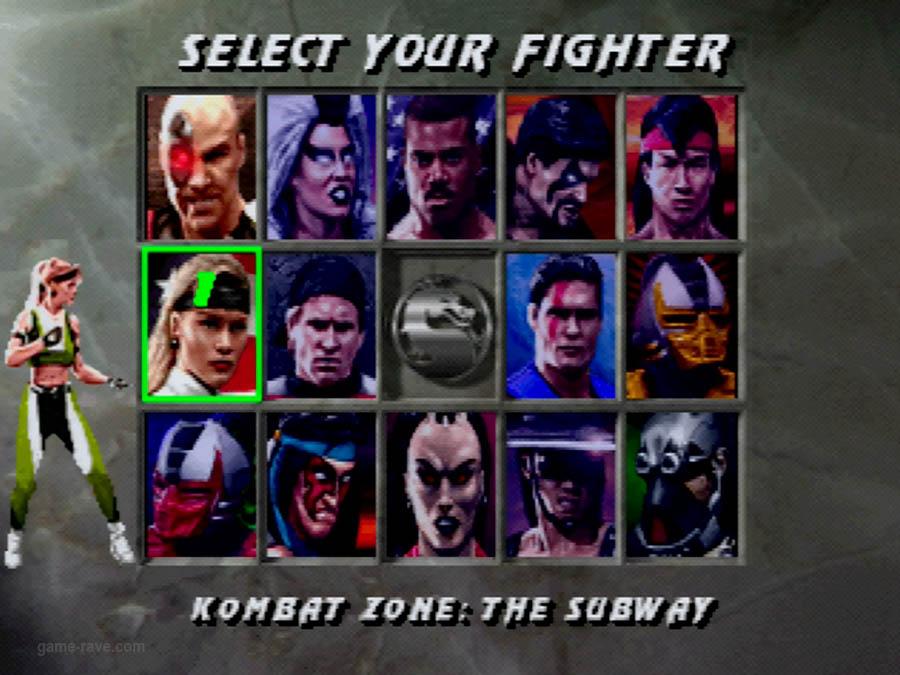 PSX Interactive CD Sampler Volume One Mortal Kombat 3 Screenshot (15)