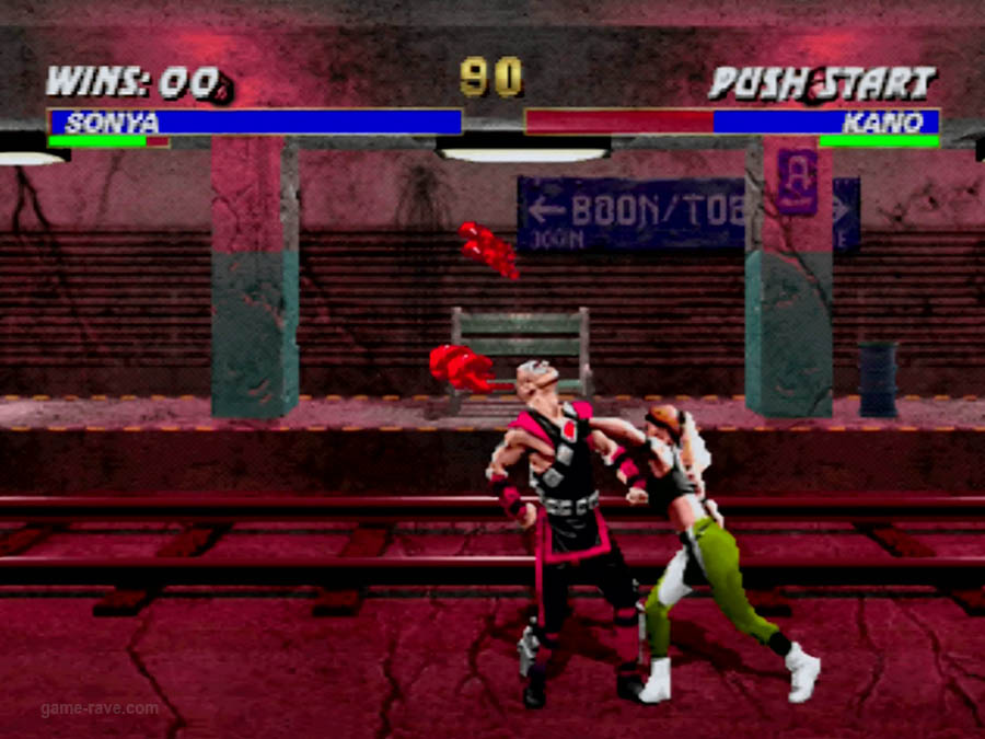 PSX Interactive CD Sampler Volume One Mortal Kombat 3 Screenshot (2)