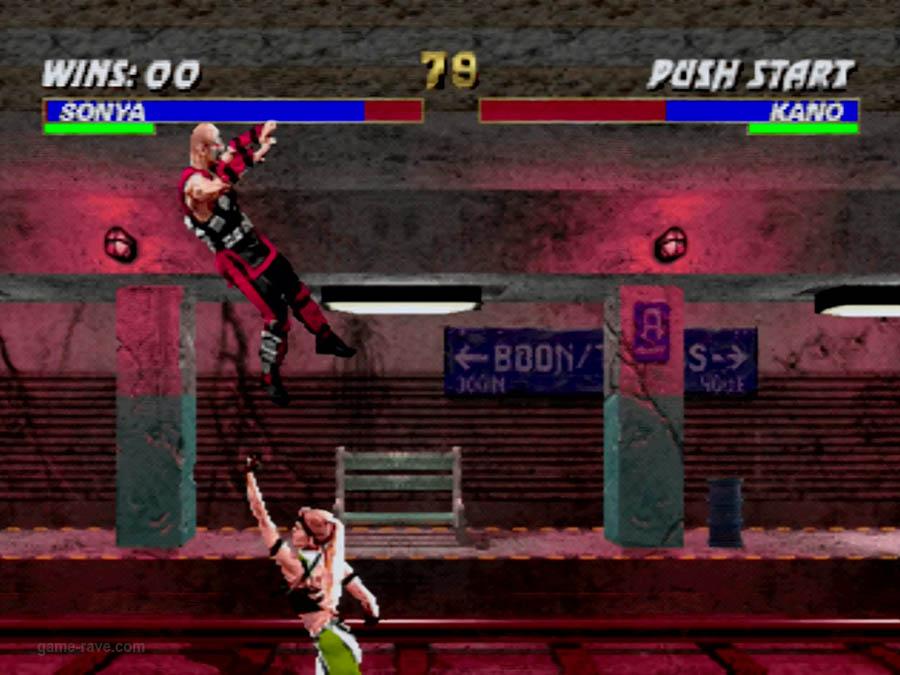 PSX Interactive CD Sampler Volume One Mortal Kombat 3 Screenshot (3)