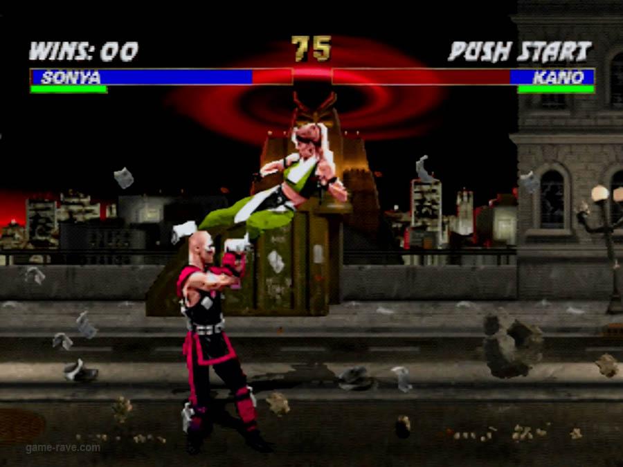 PSX Interactive CD Sampler Volume One Mortal Kombat 3 Screenshot (4)