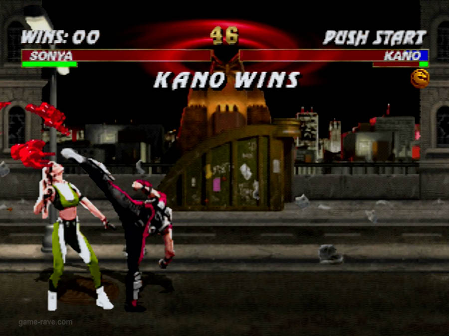 PSX Interactive CD Sampler Volume One Mortal Kombat 3 Screenshot (5)