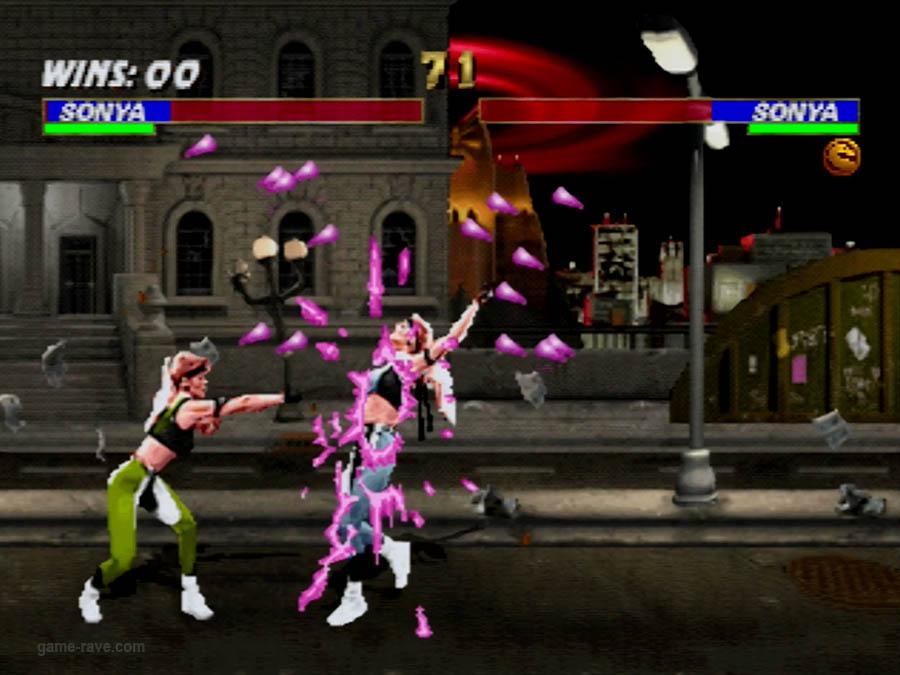 PSX Interactive CD Sampler Volume One Mortal Kombat 3 Screenshot (6)