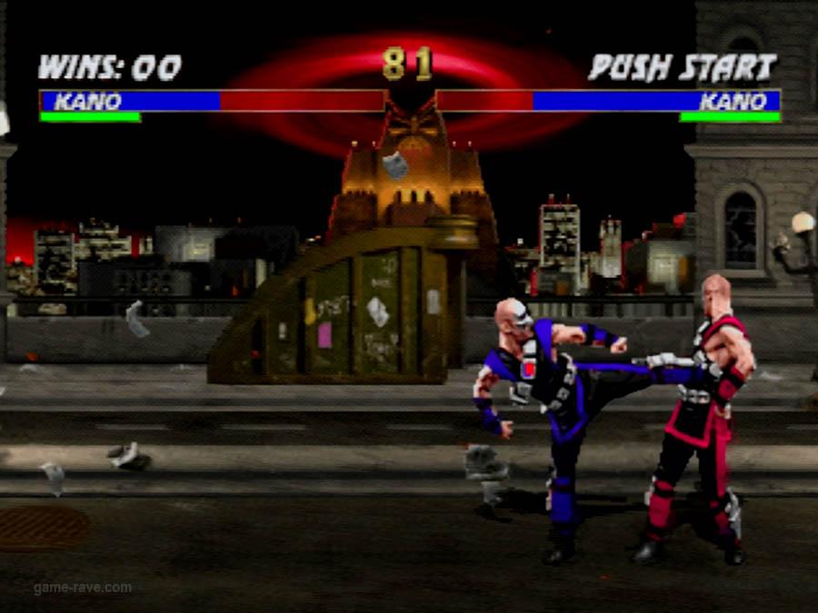 PSX Interactive CD Sampler Volume One Mortal Kombat 3 Screenshot (7)