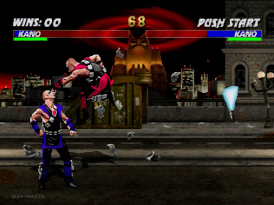 PSX Interactive CD Sampler Volume One Mortal Kombat 3 Screenshot (8)
