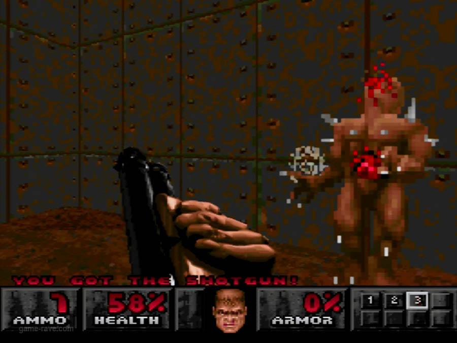 PSX Interactive Sampler CD Volume One Unreleased Doom Demo (10)