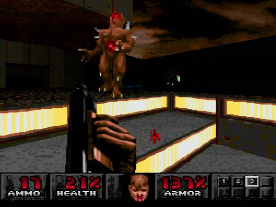 PSX Interactive Sampler CD Volume One Unreleased Doom Demo (11)