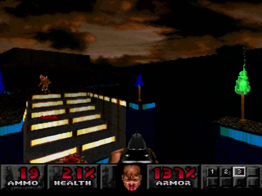 PSX Interactive Sampler CD Volume One Unreleased Doom Demo (12)