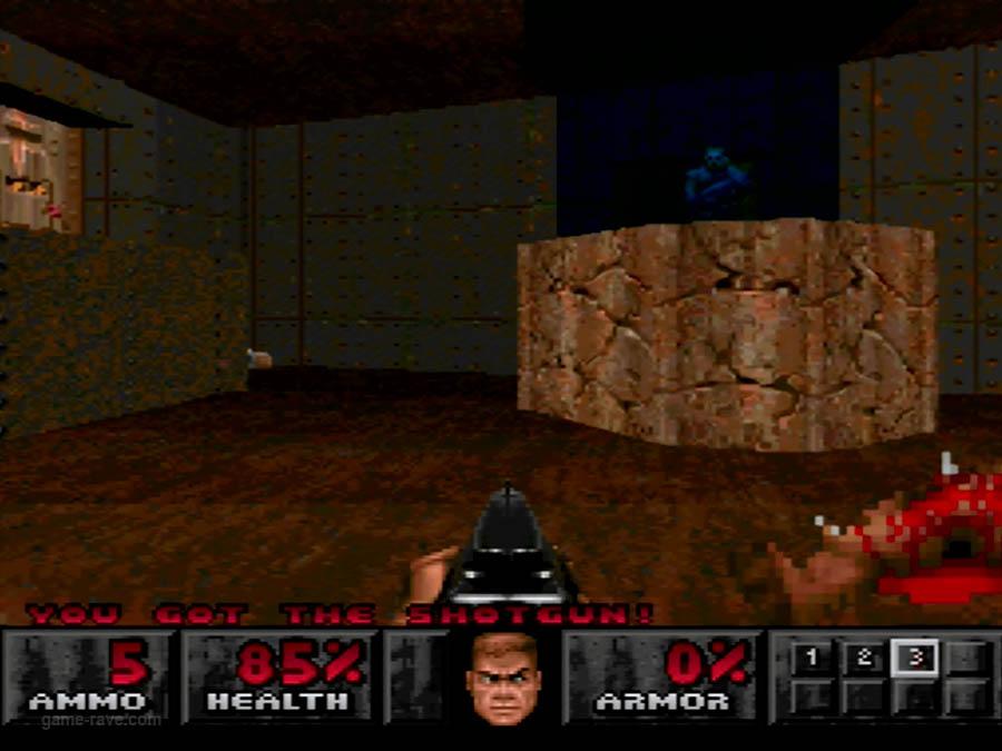 PSX Interactive Sampler CD Volume One Unreleased Doom Demo (13)