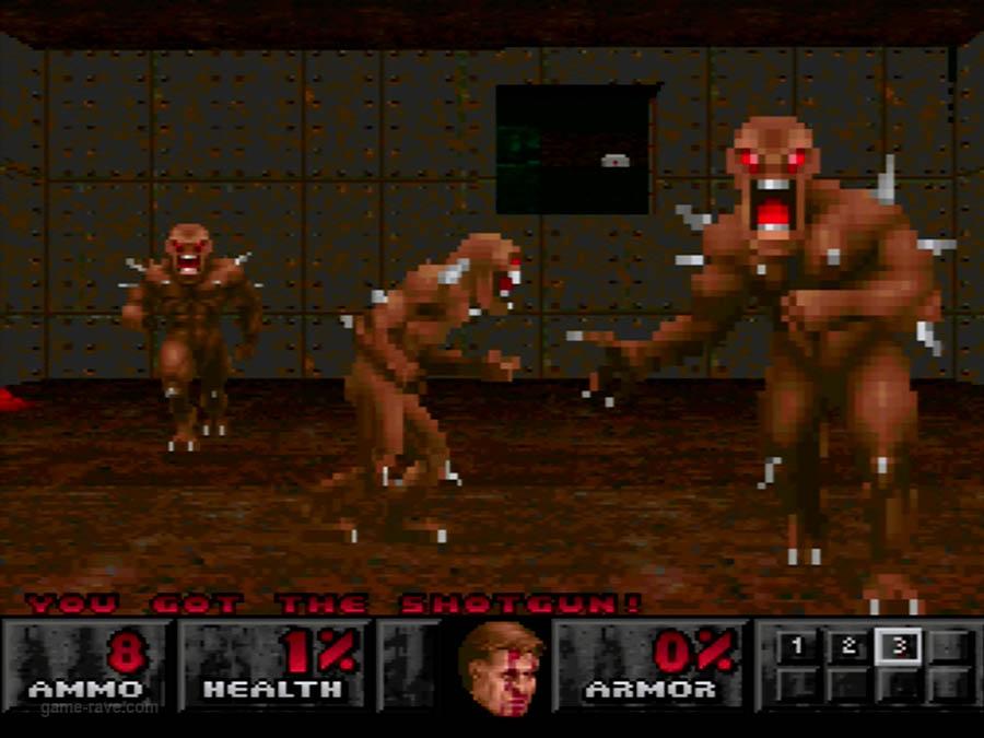 PSX Interactive Sampler CD Volume One Unreleased Doom Demo (15)
