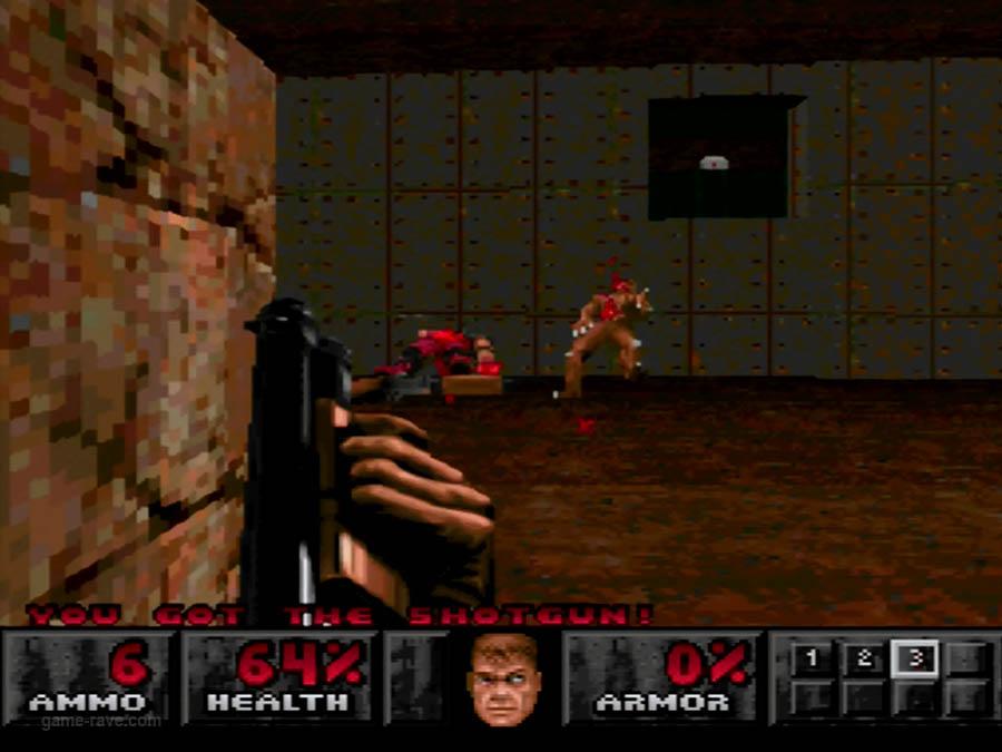 PSX Interactive Sampler CD Volume One Unreleased Doom Demo (2)