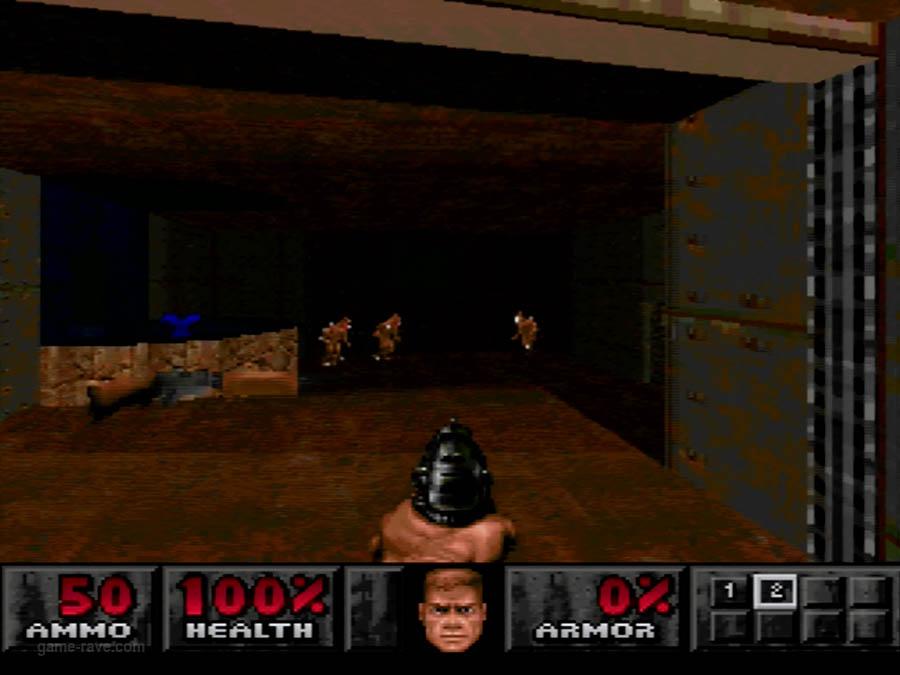 PSX Interactive Sampler CD Volume One Unreleased Doom Demo (4)