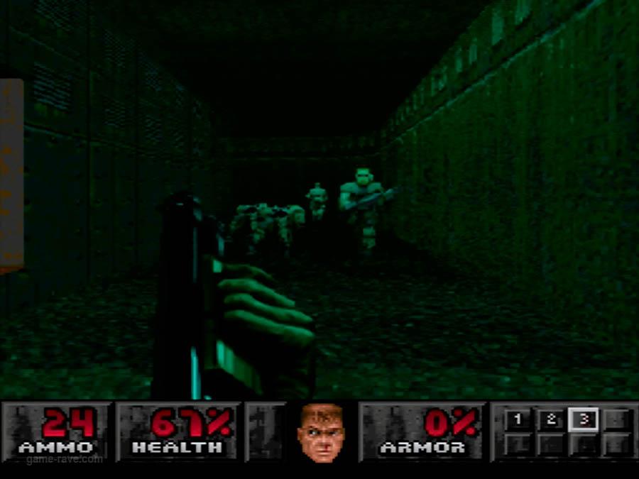 PSX Interactive Sampler CD Volume One Unreleased Doom Demo (5)