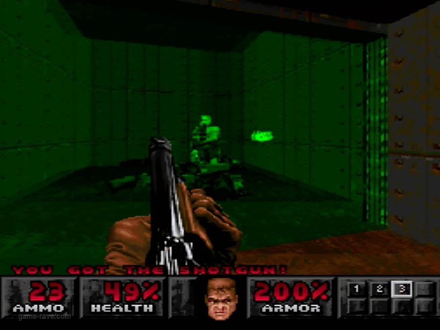 PSX Interactive Sampler CD Volume One Unreleased Doom Demo (6)