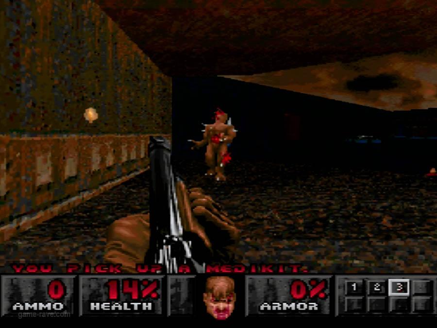 PSX Interactive Sampler CD Volume One Unreleased Doom Demo (7)