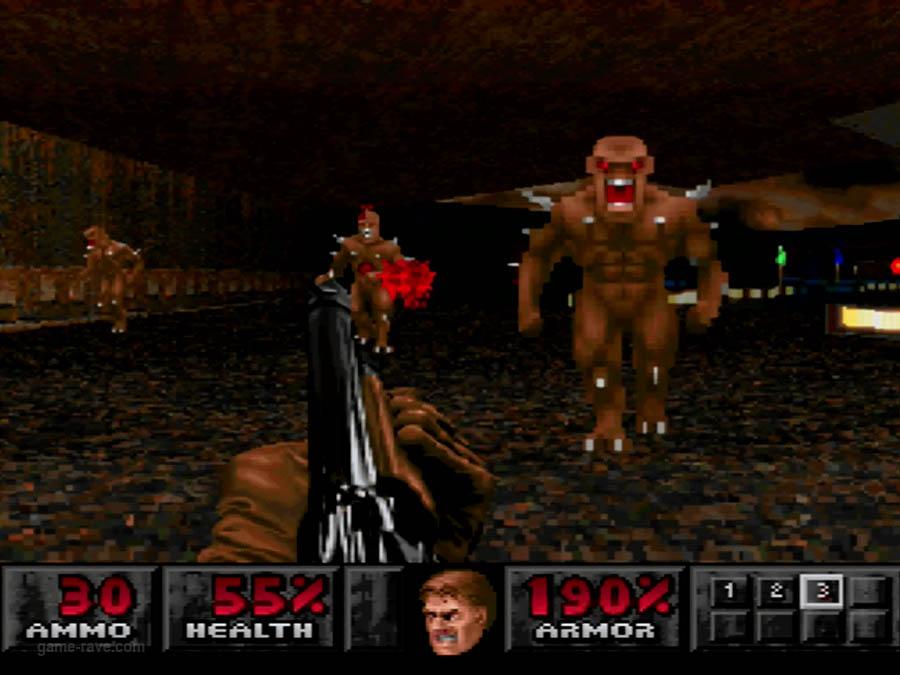 PSX Interactive Sampler CD Volume One Unreleased Doom Demo (8)
