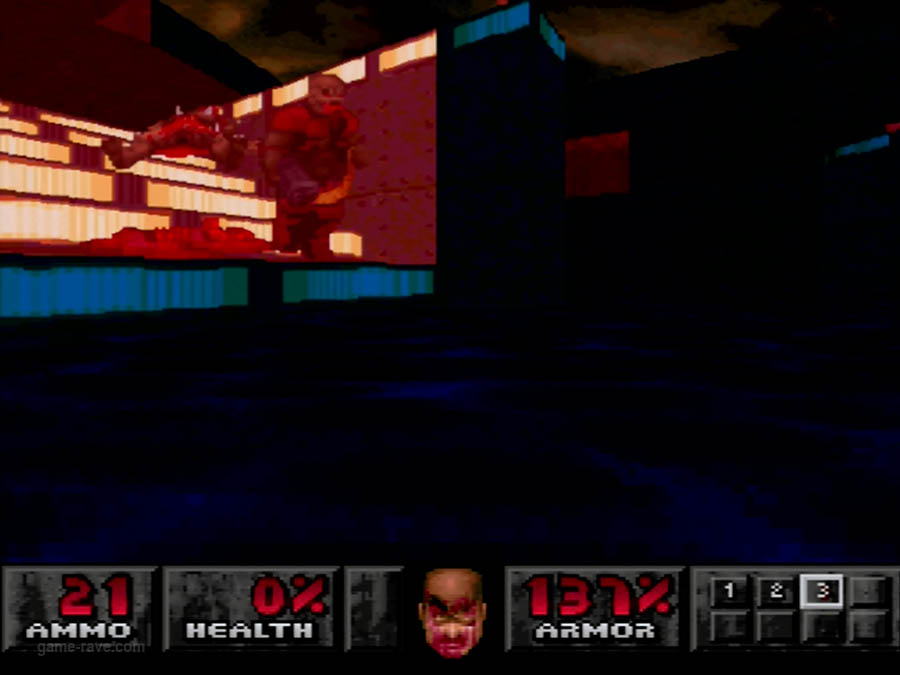 PSX Interactive Sampler CD Volume One Unreleased Doom Demo (9)