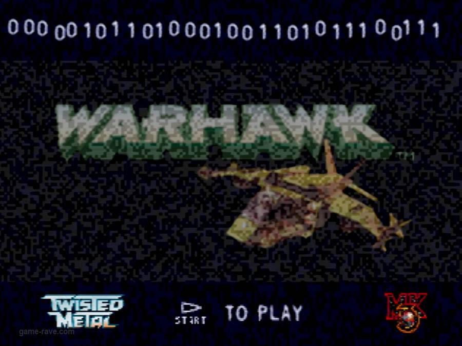 PSX Interactive Sampler CD Volume One Warhawk Screenshot (1)